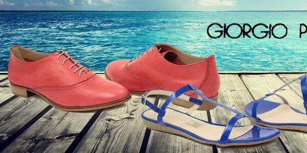 Dámska letná obuv Giorgio Picino - talianska kvalita a štýl