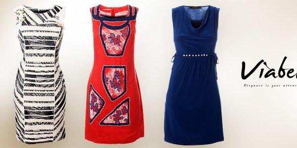 Dámske šaty Via Bellucci - taliansky šmrnc a elegancia