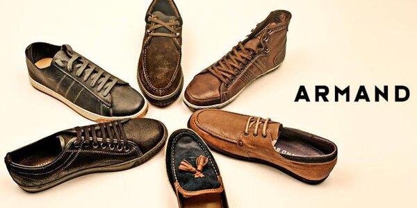 Originálna španielska obuv pre pánov Armand Basi