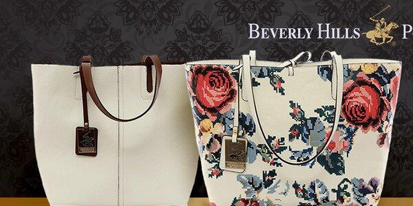 Krásne kabelky na nákupy aj do kancelárie Beverly Hills Polo Club