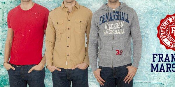 Franklin & Marshall - štýlová pánska móda na každý deň