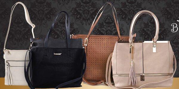 Trendy kabelky Bessie - do mesta aj do kancelárie