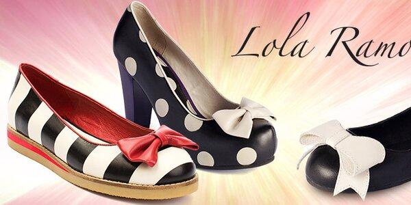 Temperamentná a veselá dámska obuv Lola Ramona