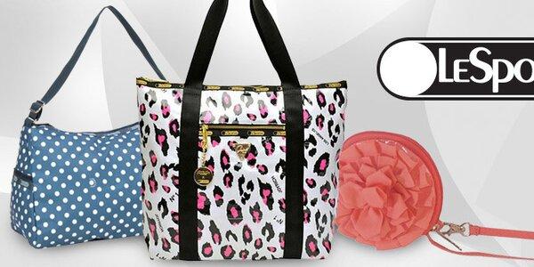 Farebné kabelky, tašky a peňaženky LeSportsac
