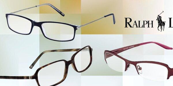 Elegantné okuliarové rámy Ralph Lauren