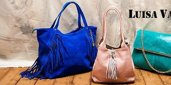 Luxusné kožené tašky a kabelky Luisa Vannini