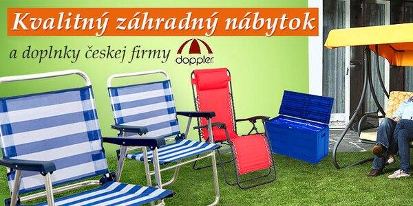 Vysoko kvalitný záhradný nábytok a doplnky českej firmy Doppler