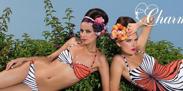 Luxusná výbava na pláž - plavky, sukne a tuniky Charmante