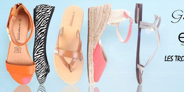 Štýlové letné sandálky, žabky a balerínky Elite Shoes už od 11,99, -