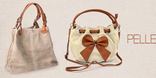 Pelleteria - elegantné kožené kabelky pre každodenné nosenie