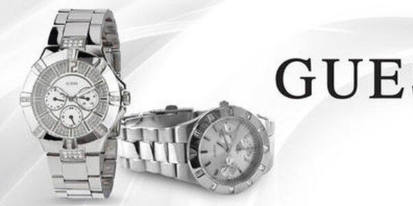 Oblečte svoje zápästie do luxusu - dámske hodinky Guess
