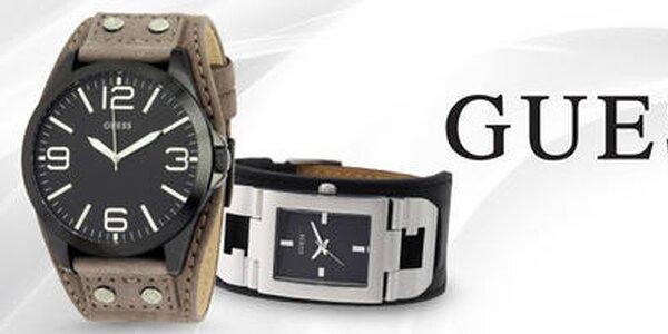 Oblečte svoje zápästie do luxusu - pánske hodinky Guess