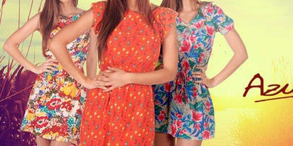 Šaty, sukne a šortky plné farieb a vzorov Azura