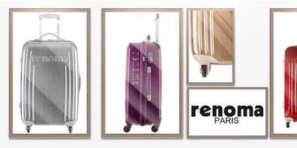 Cestovné kufre Renoma - bezpečné, priestorné a štýlové