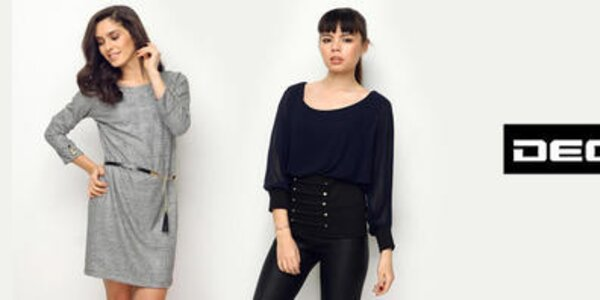 Deck - elegantné blúzky, šaty a topy pre modernú ženu