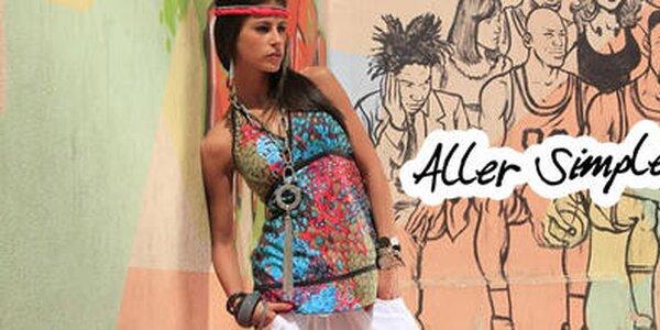 Veselo farebná francúzska letná móda Aller Simplement