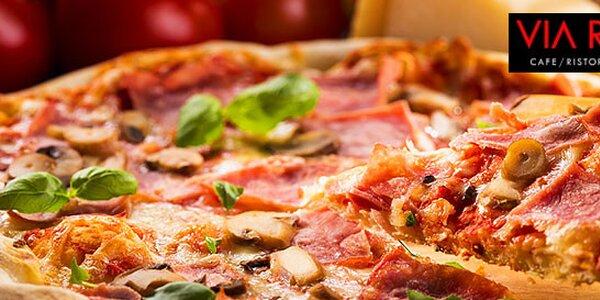 Pravá talianska chrumkavá pizza z Via Roma