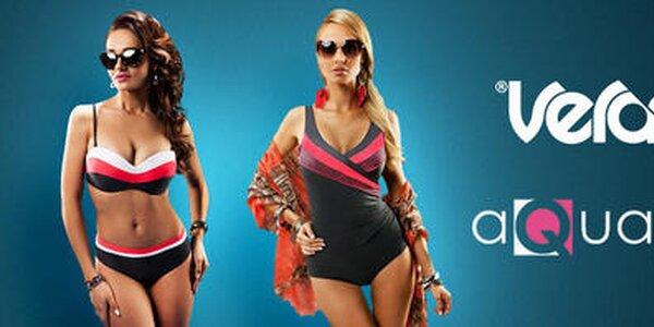 Elegantné dámske plavky značiek Aquarilla a Verano