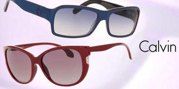 Dámske farebné slnečné okuliare Calvin Klein