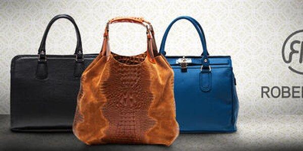Elegantné kožené kabelky Roberta Minelli