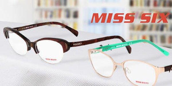 Vyostrite si zrak so štýlovými okuliarmi Miss Sixty