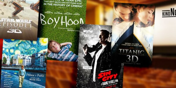 Kino Nostalgia: 3 vstupy
