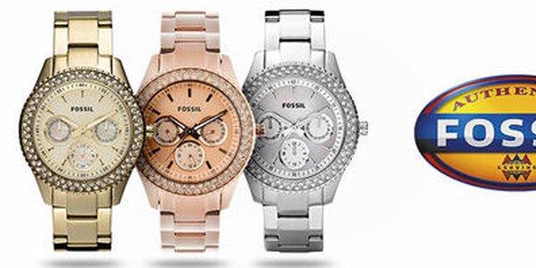 Dizajnové šperky a hodinky pre dámy Fossil