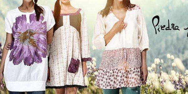 Letná móda plná farieb a vzorov Piedra and Agua