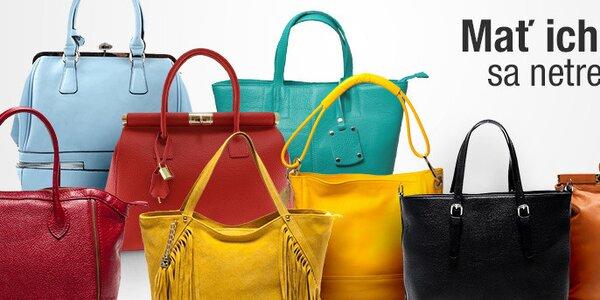 Dámske kabelky pre každú príležitosť skladom