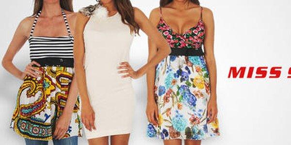 Oblečenie, topánky a doplnky obľúbenej značky Miss Sixty