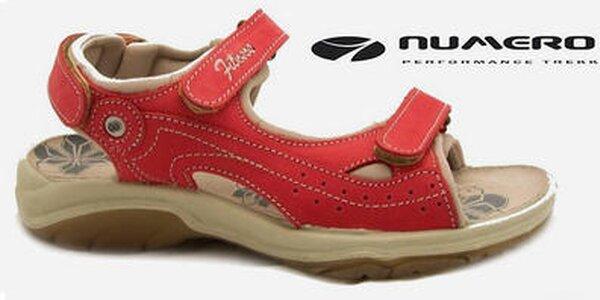 Pohodlné dámske letné outdoorové topánky Numero Uno