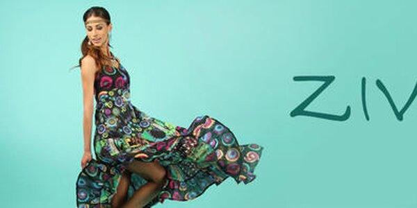 Indiou inšpirované farebné šatôčky aj nohavice Ziva