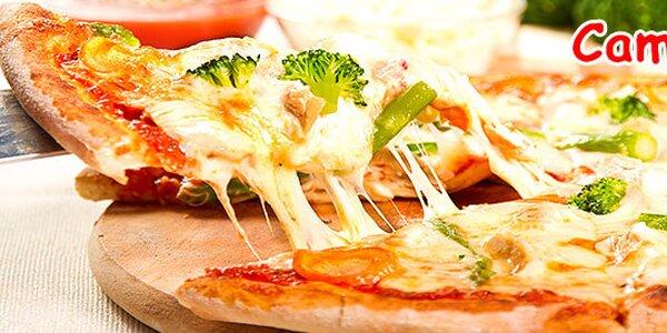 Pizza na výber z 10 druhov