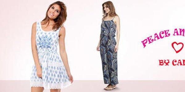 Španielska letná móda plná farieb a vzorov Peace & Love