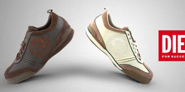 Obujte chodidlá do nápaditej pánskej obuvi Diesel