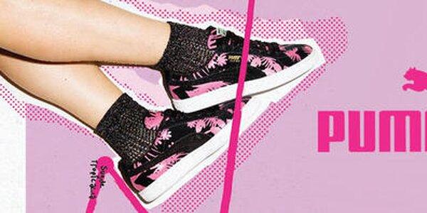 Štýlové dámske topánky a oblečenie Puma