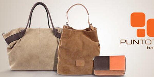 Puntotres - dámske kožené kabelky a peňaženky zo Španielska