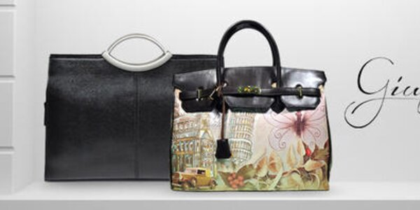 Giulia - luxusné ručne vyrábané talianske kabelky