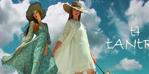 Tantra - žiarivo farebné aj tlmeno nežné letné modely