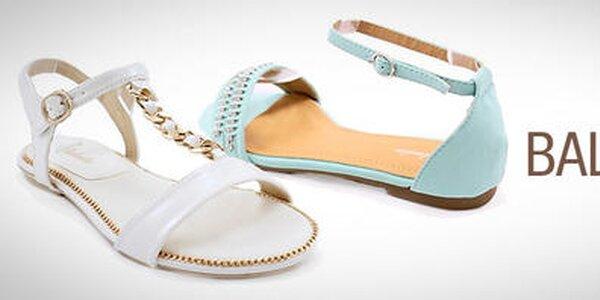 Balada - elegantné topánky pre štýlovú ženu