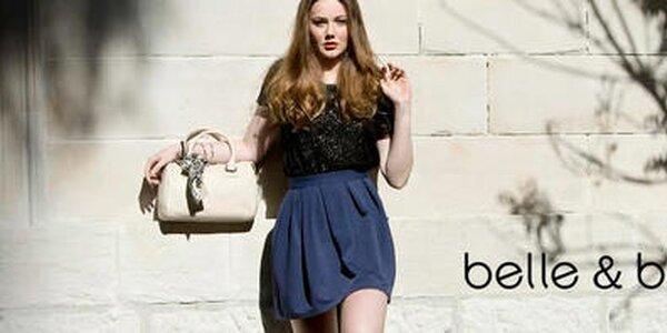 Šmrncovné kožené kabelky a šatky Belle & Bloom