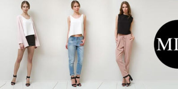 Minimalistická dámska móda plná elegancie Mija