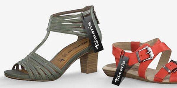 Nadčasové dámske topánky Tamaris