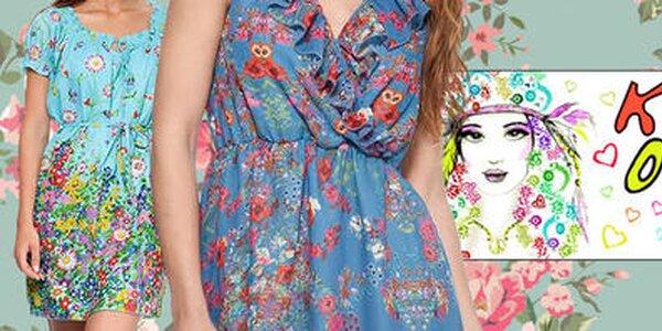 Farebná smršť španielskej módy pre dámy Kool