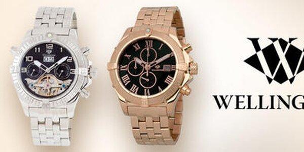 Aký máte čas? Luxusný! - Pánske hodinky Wellington
