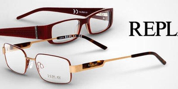 Štýlové okuliarové rámy Replay