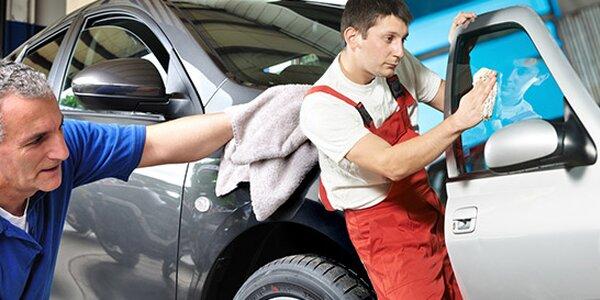 Ručne umytie a vyčistenie vášho auta