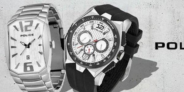 Police - pánske hodinky, ktoré nosí aj David Beckham