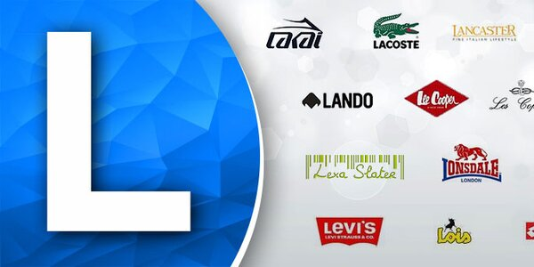 L - Lacoste, Lancaster, Lotto, Levis ... Skladom
