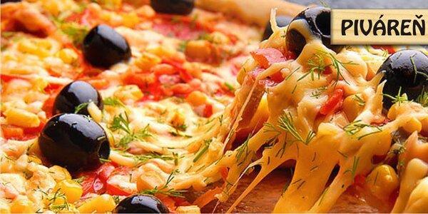 Chrumkavá pizza Na Sasovskej terase